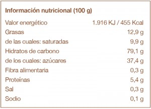 Neules 100g-tabla-nutricional-cast